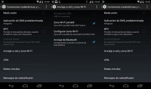 Compartir Internet a traves de Bluetooth en Android Lollipop y KitKat