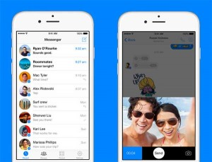 Facebook Messenger llega a iPhone y iPad