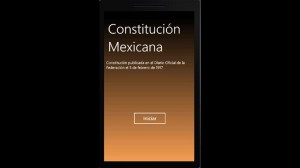 Descargar app Constitución Mexicana gratis para Windows Phone