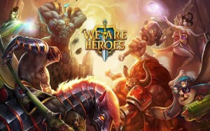 We Are Heroes juego alternativo a DoTa para celular