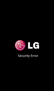 Cómo solucionar Security error en LG L9
