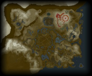Ver mapa completo de The Legend of Zelda Breath of the Wild