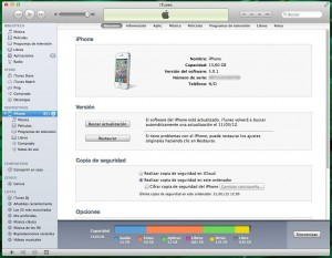 Quitar apertura de iTunes al conectar iPhone
